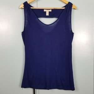Banana Republic blue tank top size S  -Y2